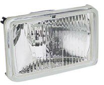 Hella 1041 - Halogen High Beam Insert - 165x100mm with sealing boot